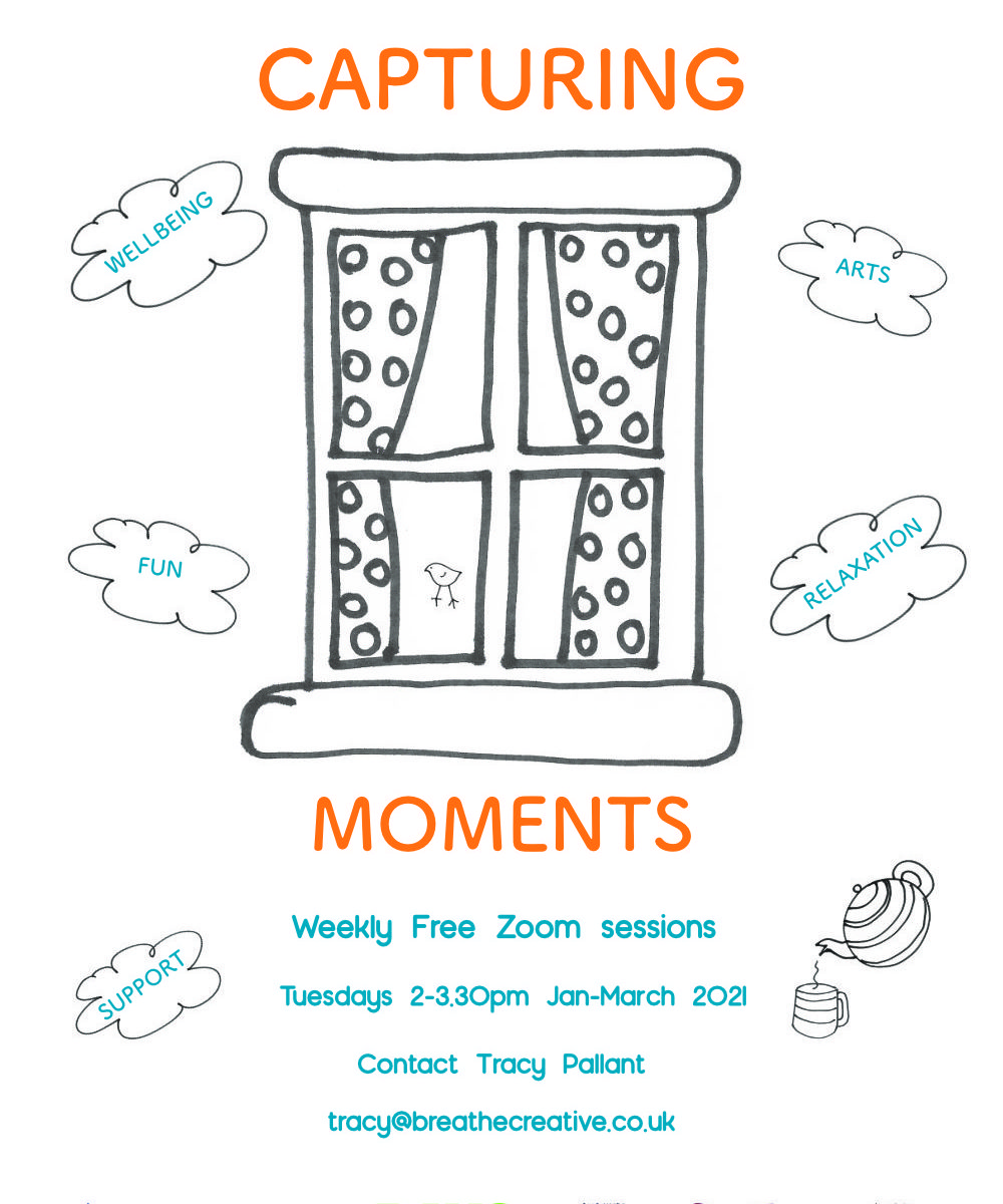 Capturing Moments project flyer